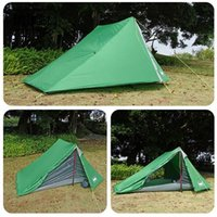 Tents And Shelters Ultralight Camping Tent Waterproof Outdoor Hiking Backpacking Travelling Trekking Sun Shelter 2 Person