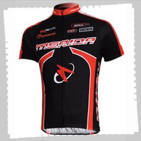 Ciclismo Jersey Pro Team Mérida Mens Summer Summer Seco Quick Seco Uniforme Bicicleta de Montaña Camisas Camisetas de bicicleta Carretera Ropa de carreras Ropa deportiva al aire libre Y21041214