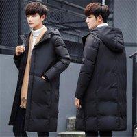 Men's Vests 2021 Winter Warm Long Duck Down Jacket Men Thickening Coat