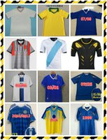 1997 1999 Jersey de football rétro de Zola Vialli Wise 1998 Leboeuf di Matteo Hughes Desailly Gullit Vintage Classic Shirt de football