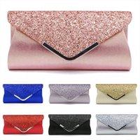 高品質PUレザーイブニングバッグ女性レディスパンシンズクラッチウェディングパーティープロムハンドバッグ財布財布シニーショルダー