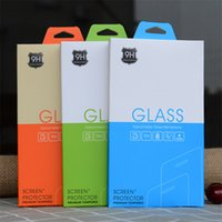 Empty Retail Package Paper Packaging Box for iphone 11 12 mini Protector 6 7 8 xs pro max Samsung S10+ Tempered Glass