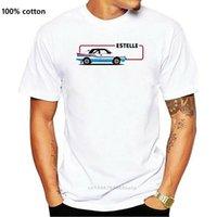 T Shirt Estelle 80s Ralli Araba Retro Çek Yarış Tişört Hızlı Spor 130 Moda T-shirt Marka T-Shirt