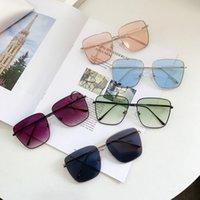 Occhiali da sole GM per uomo e donne Vento femminile Versione coreana di occhiali rossi netti moda joker occhiali da sole scatola