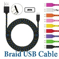 1M 2M 3M 10FT Micro USB Cables Data Sync Charging Type C Cable For Android Cellphone without Package