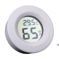 Mini Termómetro digital Portátil Termómetro Digital Higrómetro Frigorífico Congelador Temperatura Temperatura Humedad Detector HWE8141