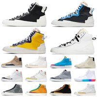 OG Blazer MID 77 Erkek Rahat Ayakkabılar Yüksek Kesim Beyaz Coolgrey Siyah Üniversitesi Mavi Varsity Mısır Hack Paketi Susam Yelken Şehir Gurur Erkek Kadın Spor Sneakers Platform Ayakkabı