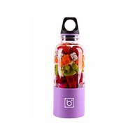 500 ml Elektrikli Kupası Mini Taşınabilir USB Şarj Edilebilir Sıkacağı Blender Makinesi Shaker Sıkıcılar Meyve Portakal Suyu Sıkacağı JN2G