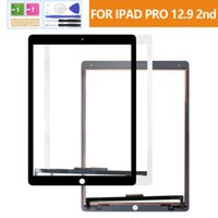 100% tested Screens For iPad Pro 12.9 2nd Gen 2017 Touch Screen Digitizer A1670 A1671 Sensor Full Glass Panel Lens Replacement Kits (Not LCD)