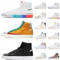 2021 Arrival Blazer Mid 77 Vintage Running Shoes Have Good Game Multi-Color Preto Branco Brilhante Carmesim Verde Lucid Masculino Feminino Sapatilhas Outdoor Tênis