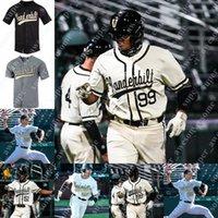 Vanderbilt Baseball Jersey Jack Leiter Dominic Keegan Isaiah Thomas Carter Young Jayson Gonzalez Tate Kolwyck CJ Rodriguez Bulger Kumar Rocker Dansby Swanson
