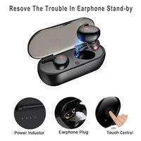 Y30 TWS wireless BluTooth 5.0 Auricolare Auricolare Annullamento Auricolare HiFi 3D Stereo Sound Sound Music In-Ear Auricolari per Android iOS con confezione scatola di vendita