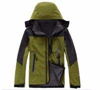 2019 Mens north Denali Fleece Apex Bionic Jackets Outdoor Windproof Waterproof Casual SoftShell Warm Face Coats Ladies S-XXL