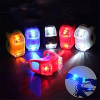 Bike Lights Accessories Frog Bicycle Light Silicone LED Waterproof Riding Warning Safety Front And Rear MTB