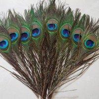20 adet Doğal Tavuskuşu Tüyler El Sanatları DIY Düğün Tüyler Gerçek Plume Saç Takı Yapımı Parti Noel Dekorasyon Plumas
