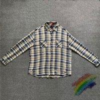 Heavy Fabric Plaid Shirts Men Women 1 High-Quality Unisex Fashion Shirt Flannel Pocket Blouse
