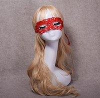Venetian Red Lace Filigree Masquerade Ball Mask Gothic Party Masks Carnival Eyemask black white fancy dress prom SN3026