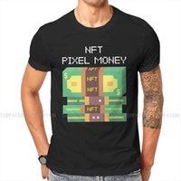 T-shirt da uomo NFT Non fungibile Tokens Original Tshirts Pixel Soldi Bianco Distintivo T Shirt Trend Abbigliamento 6XL