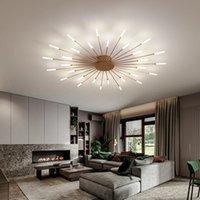 New led Chandelier Light for Living Room Study Home Ceiling Lamp Modern Hotel Bedroom Restaurant Dinning Decor Lighting R378