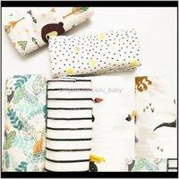 Quilts Muslin Decke Bambus Baumwolle Born Bath Tuch Swaddle Decken Multifunktions Baby Wrap Hxczn 92VHO