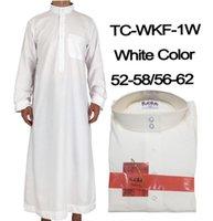 7 Renk Erkekler Müslüman Bornozlar İslam Giyim Dubai Arapça Abaya Kaftan Eid Mübarek Namaz Maxi Jubba Thobe Man Geleneksel Kostüm1