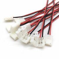 10 teile / los LED Streifen Steckverbinder Beleuchtung Zubehör 2 Pin 8 mm 10mm Kein Lötkraft Wire Verbinder 2Pin für 2835/5050 LEDs Streifen Kabel Leiterplatte
