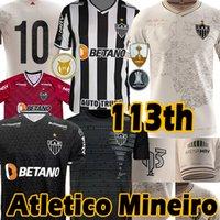 21/22 Atletico Mineiro Soccer Jerseys 113. Jubiläum Hulk Sasha Vargas M.zaracho Elias Guga Keno d.Tardelli Spiel 2021 2022 Fußball Jersey Uniformen Camisa de Galo