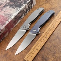 F95 TC4 titanium alloy handle outdoor camping folding knife D2 blade ball bearing multifunctional survival edc hunting tactical tool
