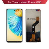 For Tecno camon 17 pro CG8 LCD Display Touch Panels Complete Cell Phone with Screen Assembly Digitizer Replacement