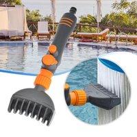 Pool & Accessories Handheld Filter Cleaning Brush 6 Holes Anti-Leak Ergonomics Comb Clean Swimming Bathtub Tool