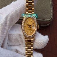 Luxo Alta Qualidade 31mm Ladys Relógios Automáticos Relógio Mulher ETA 2813 Movimento 178288 Steel Senhoras Data Presidente 279174 Sapphire Relógios de Pulso 51