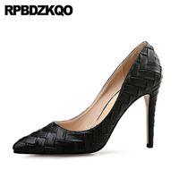 Dress Shoes 2021 Spring Fashion Women Pumps Extreme Plus Size Runway Medium Heels Scarpin 12 44 Pointed Toe 11 43 High Super Ultra