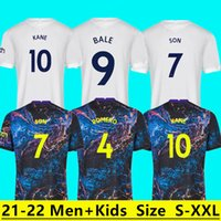 21 22 Dele Oğul Tottenham Balya Kane Futbol Forması Hojbjerg Bergwijn Lo Celso Spurs 2021 2022 Lucas Futbol Gömlek Üniforma Erkekler Kids Kiti