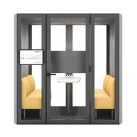 Commercial Furniture modern design movable home silence acoustic phone booth soundproof office meeting pod