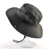 Wide Brim Hats Solid Color Sun For Men Outdoor Fishing Cap Anti-UV Beach Caps Women Bucket Hat Summer Hiking Camping Bone Gorros