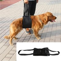 Dog Collars & Leashes 4 Sizes Lift Assist Support Harness Hand Walking Aid Vest Rehabilitation For Canine Elderly Sick Injured Pet Tool