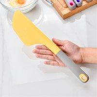 큰 실리콘 크림 베이킹 스크레이퍼 과자 도구 비 스틱 버터 믹서 스마트 스프레더 내열성 주걱 EEB5987
