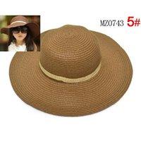 الأطفال قبعة قبعة قبعة الشمس واسعة بريم القبعات سترو بيتش الفتيات sunbonnet fashion topee