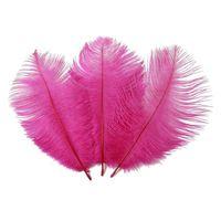 다채로운 20-22 인치 50-55 cm 타조 깃털 깃털 웨딩 센터 피스 웨딩 파티 이벤트 장식 축제 장식