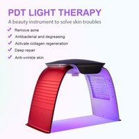 korean facial led pdt lighting color therapy red light skin tightening machine anti aging device