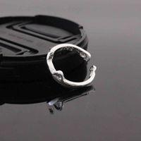 Lady's Plain Ring Cat Simple Popular Korean Fashion Ear