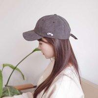 모자 면화 수 놓은 야외 스포츠 태양 남성 크랩 아이콘, 순수한 야구 모자, 여성