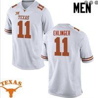 Benutzerdefinierte 009 Jugendfrauen Texas Longhorns Sam Ehlinger # 11 Football Jersey Größe S-5XL oder benutzerdefinierte Neiner Name oder Nummer Jersey