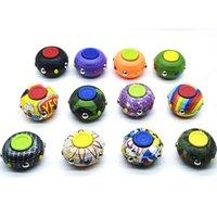 Dedo top fidget brinquedo novo produto UNZIP MIGIC Cubo Fidgets Pad Disco Decompression Decompression Fingert Gyro Fingertip Jogo Novidade Brinquedos