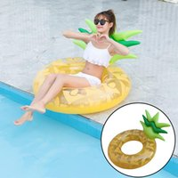 Pool & Accessories Summer Inflatable Cute Swimming Ring Toy Beach Party Outdoor For Adult And Kid Pineapple Shape Float Mattress Equipment 6