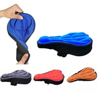Bike Saddles Bicycle Saddle Seat Mountain Cycling Thickened Extra Comfort Ultra Soft Silicone 3D Gel Pad Cushion Cover 4 Colors