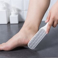 Double Side Foot File Professional Rasp Heel Grater Hard Dead Skin Callus Remover Pedicure Files Feet Graters 1242