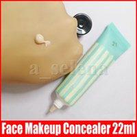 الوجه ماكياج المخفي مؤسسة التمهيدي قليلة التقليل المهنية المسام تقليل الجلد تجانس 22ML 4 ألوان