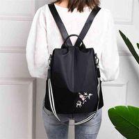 Fashion Sika Deer Print Convertible Multifunctional Ladies Backpacks Bag For Women 2020#g30