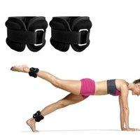 Lixada 1-4 كيلوجرام 2psc تعديل الكاحل دعم الوزن هدفين حزام سماكة الساقين قوة التدريب الحرس رياضة اللياقة والعتاد